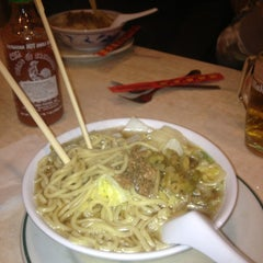 Photo taken at Zhou Yulong (El Restaurante Chino de Plaza de España) by Tae K. on 4/1/2013