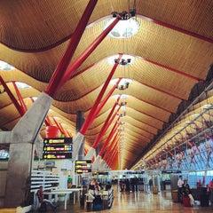 Photo taken at Aeropuerto Adolfo Suárez Madrid-Barajas (MAD) by Sun A. on 6/8/2013