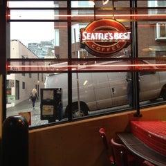 Photo taken at Seattle's Best Coffee by Eunju P. on 11/13/2012
