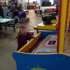 Photo taken at Carolina Beach Arcade by Brian R. on 3/28/2014