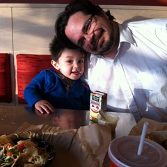 Photo taken at Qdoba Mexican Grill by Natasha on 4/8/2014