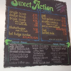 Photo taken at Sweet Action Ice Cream by Jennifer G. on 9/20/2013