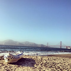 Photo taken at China Beach by Andrew W. on 7/5/2013