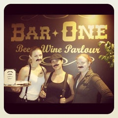 Photo taken at Bar One: a craft beer bar by Arelene R. on 1/17/2013