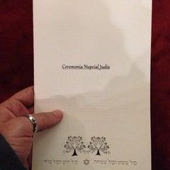 Photo taken at Sinagoga Circulo Israelita De Santiago by adosrecreativo on 4/13/2014
