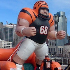 Photo taken at Paul Brown Stadium by JayBee on 11/25/2012