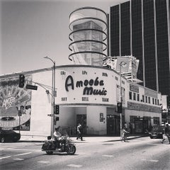 Photo taken at Amoeba Music by Shea B. on 5/12/2013