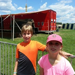 Photo taken at Ionia Fairgrounds by Carmen Y. on 7/17/2014