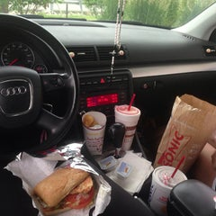 Photo taken at SONIC Drive In by Davonna G. on 6/18/2013