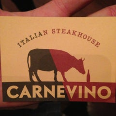 Photo taken at Carnevino by will k. on 5/19/2013
