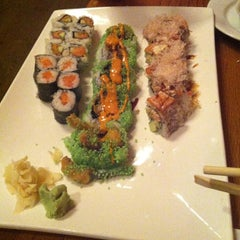 Photo taken at Baan Thai / Tsunami Sushi by Naveen S. on 8/7/2013