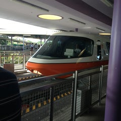 Photo taken at Monorail Orange by Joanne G. on 6/23/2013