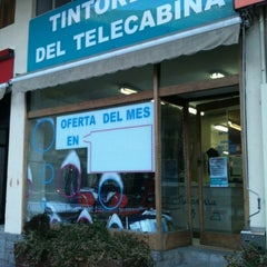 Photo taken at Tintoreria Del Telecabina by Pep A. on 12/12/2012