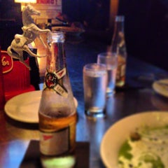 Photo taken at Trina's Starlite Lounge by Maureen H. on 7/28/2013