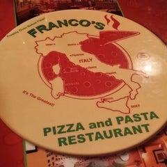 Photo taken at Franco's Pizza & Pasta by Ricky S. on 7/19/2014