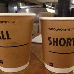 Photo taken at Woolworths by Marius R. on 4/4/2013