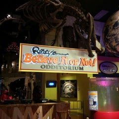 Photo taken at Ripley's Believe It Or Not! Times Square by John B. on 1/18/2013