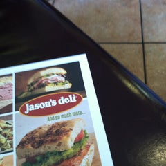 Photo taken at Jason's Deli by Diane D. on 4/25/2013