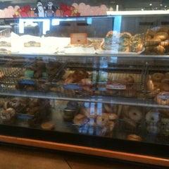 Photo taken at Einstein Bros Bagels by Mauricio P. on 10/2/2012