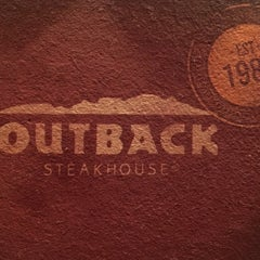 Photo taken at Outback Steakhouse by Rex C. on 2/18/2016