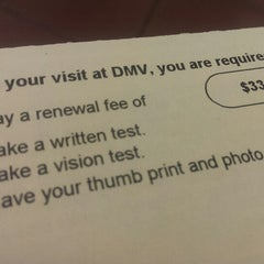Photo taken at Department of Motor Vehicles by Raymond Y. on 4/1/2014