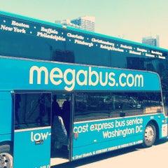 Photo taken at Mega Bus - W 34th St & 11 Av (Amherst/Chicago/Fairhaven/Albany/Burlington/Philadelphia/Washington DC/Boston/Syracuse/Rochester/Buffalo/Toronto/State Collage/Pittsburg) by Todd H. on 5/4/2013