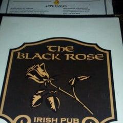 Photo taken at The Black Rose Irish Pub by Megan E. on 11/22/2012