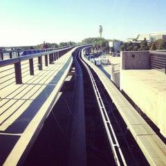 Photo taken at Tram To Gates 60-99 by Sean C. on 10/31/2012