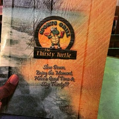 Photo taken at The Thirsty Turtle by Emmanuel C. on 5/22/2015