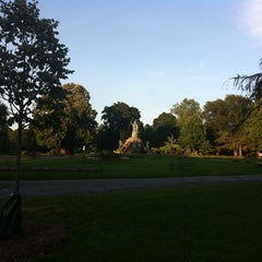 Photo taken at Washington Park by Hamid A. on 7/6/2013