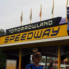 Photo taken at Tomorrowland® Speedway by Franz A. on 1/13/2013