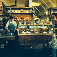 Photo taken at La Farine Boulangerie Patisserie by Evangeline B. on 2/11/2014