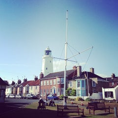 Photo taken at Southwold Lighthouse by Dan B. on 7/28/2013