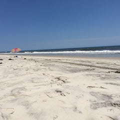 Photo taken at Fire Island Pines Beach by Mark J. on 7/16/2015