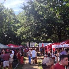 Photo taken at University of Alabama Quad by Adair C. on 9/28/2013