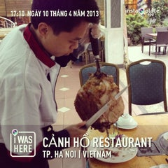 Photo taken at Cảnh Hồ Restaurant by 5 B. on 4/10/2013