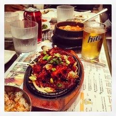Photo taken at BCD Tofu House by esco777 on 4/18/2013