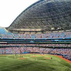 Photo taken at Rogers Centre by Sam L. on 7/4/2013