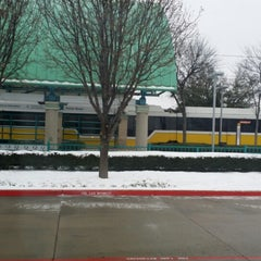 Photo taken at Parker Road Station (DART Rail) by Jade on 3/1/2015