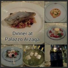 Photo taken at Palazzo Arzaga Hotel Lake Garda - Spa & Golf Club Resort by Silvia B. on 4/20/2013