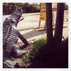Photo taken at Gator Grill by Federì on 2/4/2014