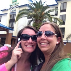 Photo taken at Holiday Inn Express & Suites Tampa/Rocky Point Island by Bethany B. on 3/18/2013