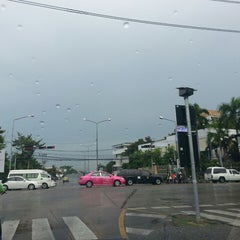 Photo taken at แยกนิด้า (NIDA Intersection) by Arch M. on 6/4/2013