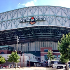 Photo taken at Minute Maid Park by Caleb on 6/27/2013