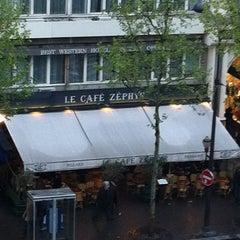 Photo taken at Café Zéphyr by Johan J. on 5/1/2013