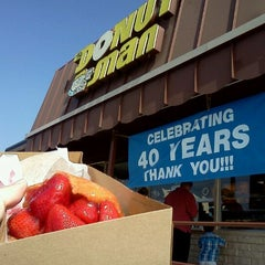 Photo taken at The Donut Man by David A. on 5/13/2012