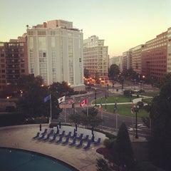 Photo taken at Washington Plaza Hotel by Pawoot (Pom) P. on 9/23/2012