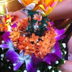 Photo taken at วัดเนื่องจำนงค์ by Nat J. on 11/28/2012