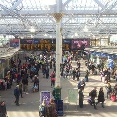 Photo taken at Edinburgh Waverley Railway Station (EDB) by Ed W. on 3/1/2013