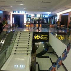 Photo taken at Golden Screen Cinemas (GSC) by Edward O. on 12/30/2012